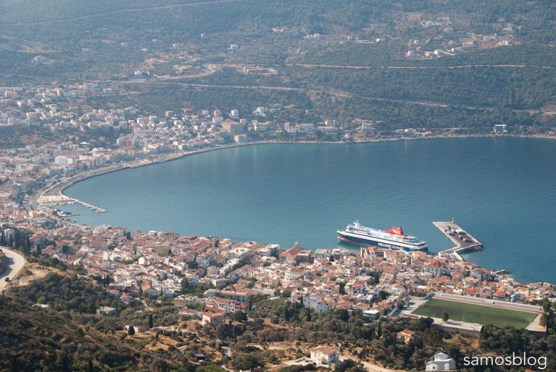 Samos bay and carry