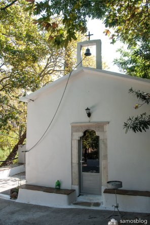 The chapel Agia Pandelímon near Kokkari