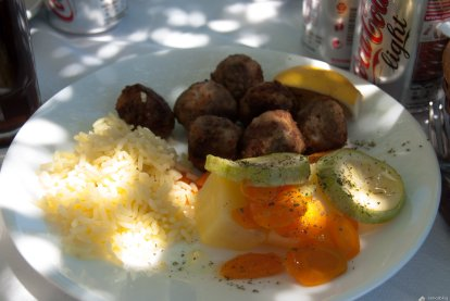 Meat balls, Taverna End of the world