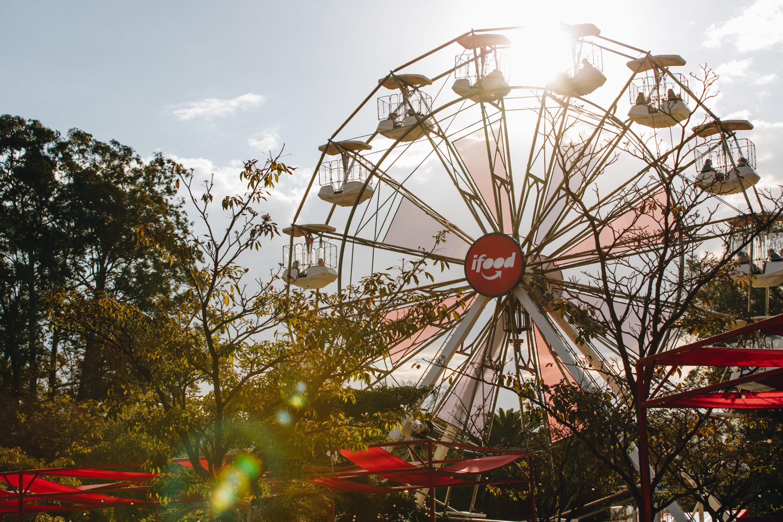 Roda Gigante no Parque Ibirapuera