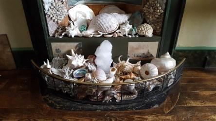 A La Ronde Fireplace Of Shells