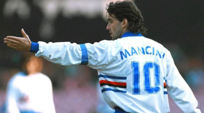 """Mancini: """"Spero sempre che le cose alla Samp vadano bene. Rigiocherei la finale a Wembley""""."""