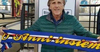 """Sampdoria, Nicolini: """"Sarà bellissimo tornare a casa!""""."""