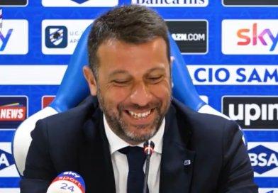 """Video- Cagliari-Samp, D'Aversa: """"È un crocevia, vogliamo stoppare la tradizione negativa""""."""