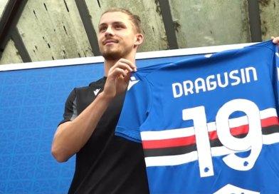 """Video – Dragusin: """"Primo rumeno alla Samp? Un onore. Ho sensazioni molto buone""""."""