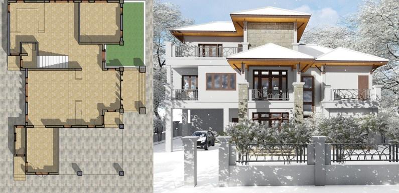 6 Bedroom House 12.8×16.5m