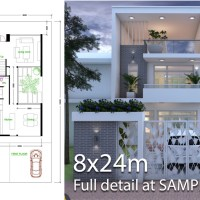 3 Bedroom House Plan 6m5x15m