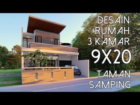 3 Bedrooms Garden Side 9x20m