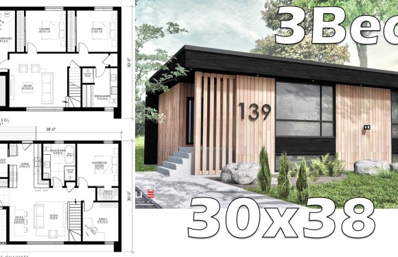 Small Home Design 30×38 With Under Ground