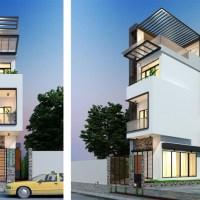 Townhouse Plans Narrow Lot 4.5x17.2m