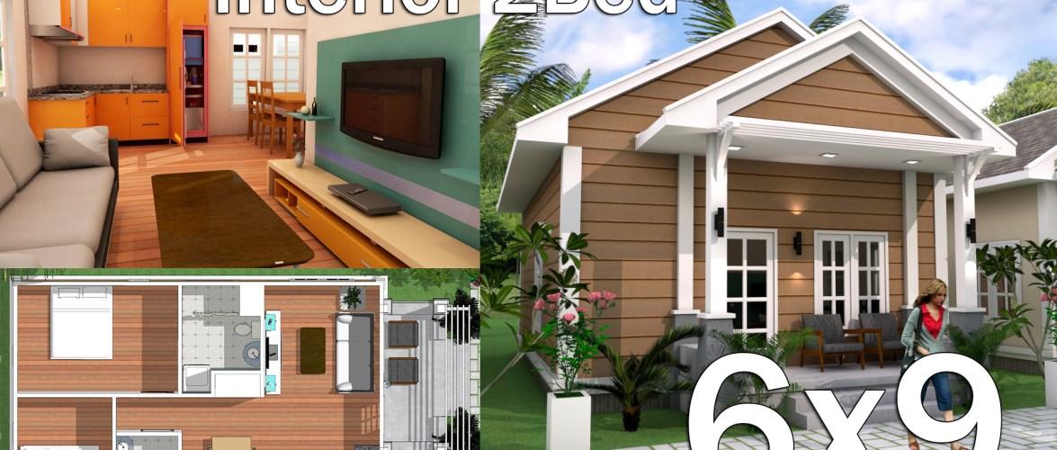 Interior Low Budget Home Plan 6×9 Meter