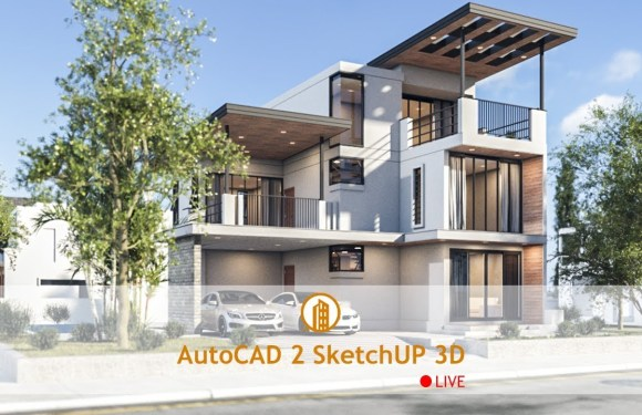 3 Story Modern House 10x12m 4Bedrooms