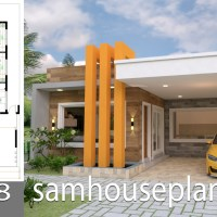 House Plans 10x18 with 3 bedrooms