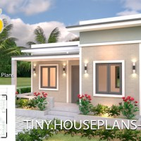 House Plans 7x6 with One Bedroom Flat Roof