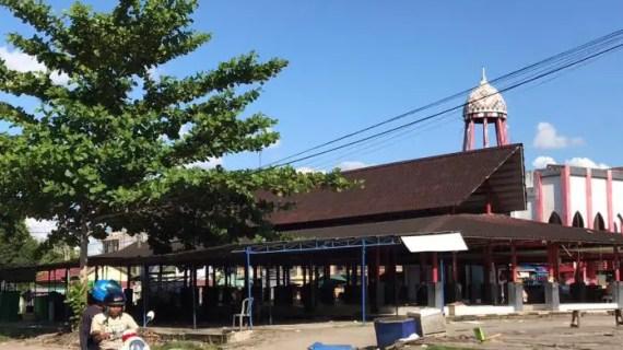 Pedagang Kuliner di Pasar Eks Mentaya Mulai 'Dirapikan'