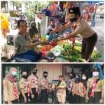 Kwarran Baamang Gelar Aksi Sosial bagikan Ratusan Masker dan Beras