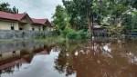 Hujan dan Air Pasang, Puluhan Desa di Kotim Dilanda Banjir dan Beberapa Kawasan di Sampit Tergenang Air