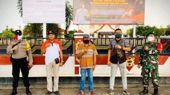 PT Unggul Lestari buat terobosan sosialisasikan pencegahan karhutla di tengah pandemi COVID-19