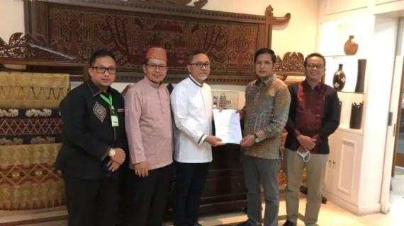 Sah M Rudini Darwan Ali Kantongi Rekomendasi B1KWK DPP PAN