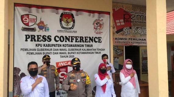 Kapolda Kalimantan Tengah Lakukan Kujungan Ke KPU Kotim