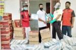 PT Maju Aneka Sawit bantu korban banjir di dua desa