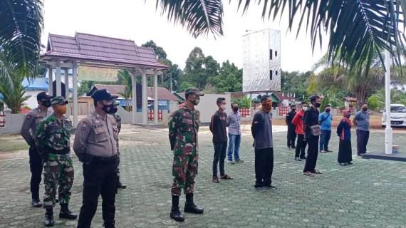 Polsek Cempaga Siap Amankan Rangkaian Pilkada Dampingi Penertiban APK dan APS