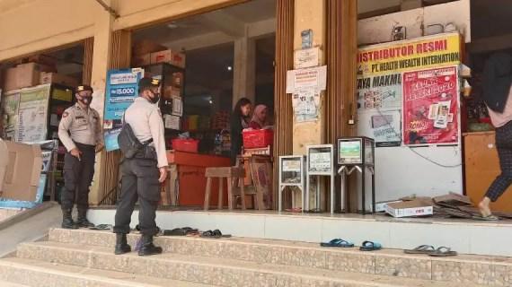 Personil Polsek Mentaya Hulu Laksanakan Patroli Rutin Jaga Kondusifitas