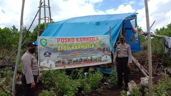 Sinegritas Patroli Karhutla Polsek Pulau Hanaut