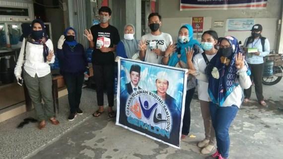 Polsek Baamang Amankan Kampanye Paslon Bupati dan Wakil Bupati Kotim