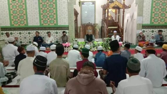 Kapolsek Mentaya Hulu Hadiri Acara Maulid Nabi Muhammad Saw 1442 H