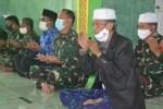 Anggota Satgas dan Warga Gelar Doa Bersama Untuk Sukseskan TMMD