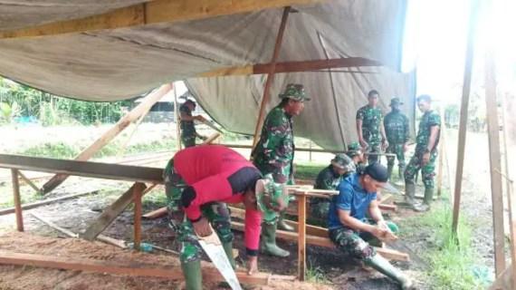 Satgas TMMD Terus Jaga Silaturahmi Dengan Masyarakat