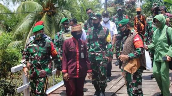 Selesainya Sasaran Fisik TMMD, Karena Semangat dan Kekompakan Masyarakat dan TNI