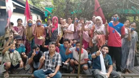 Cawabup Kotim Irawati Datang Ke Desa Soren, Warga Dadakan Kumpul Sampaikan Hal Ini