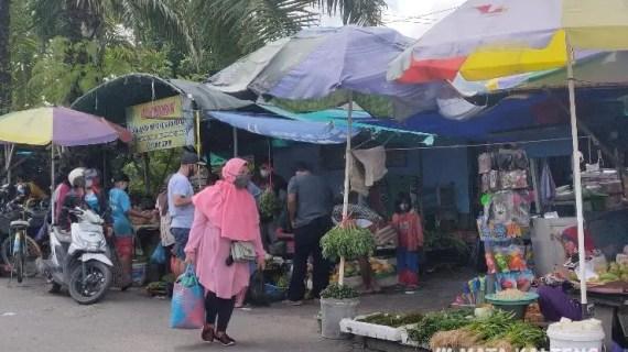 Libur Panjang, Warga Serbu Pasar Tradisional