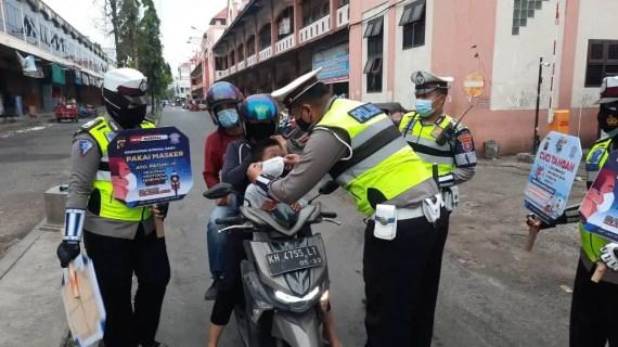 Polres Kotim Laksanakan dan Sosialisasikan Disiplin Protkes cegah Penyebaran Covid – 19