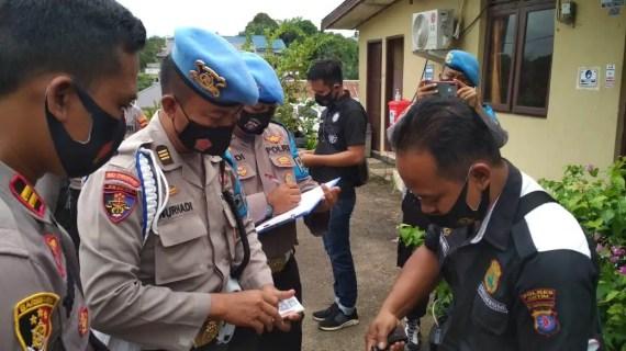 Propam Polda Kalteng Giatkan Gaktibplin Personel Polsek Cempaga Hulu