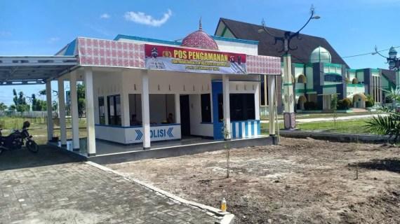 Polres Kotim Siapkan Pos Pengamanan dan Menyiagakan Personel
