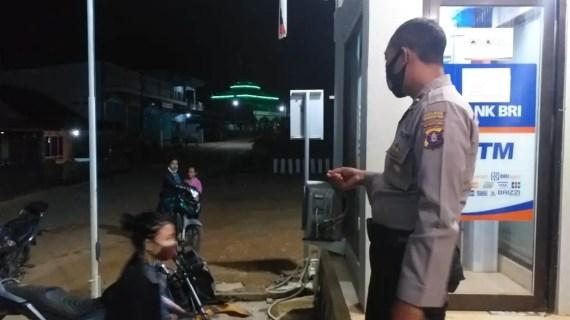 Perketat pengawasan, Polsek Mentaya Hulu Melakukan Patroli di Kantor-kantor Pelayanan Publik