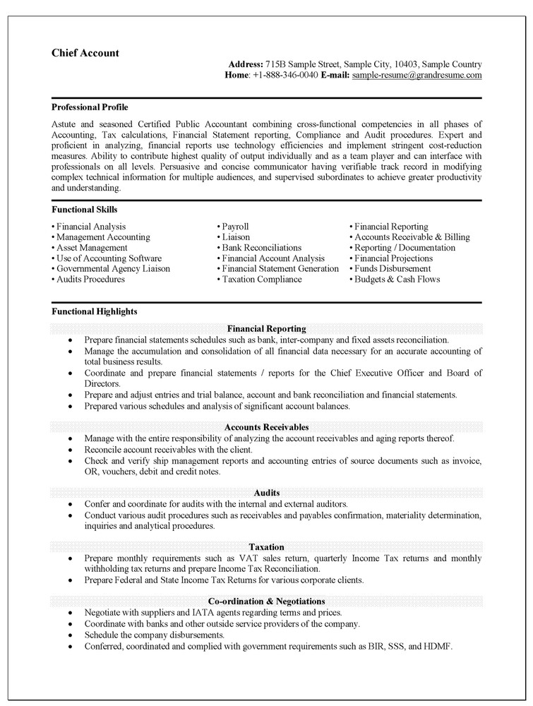 Interesting Controller Resume Examples For Employment Vntask Com Assistant  Controller Job Description Happytom Co  Accountant Sample Resume