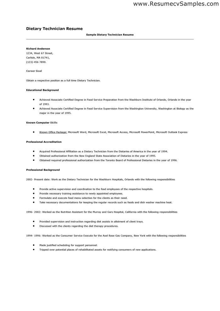 Dietary Aide Resume Template. School Aide Resume. Where To
