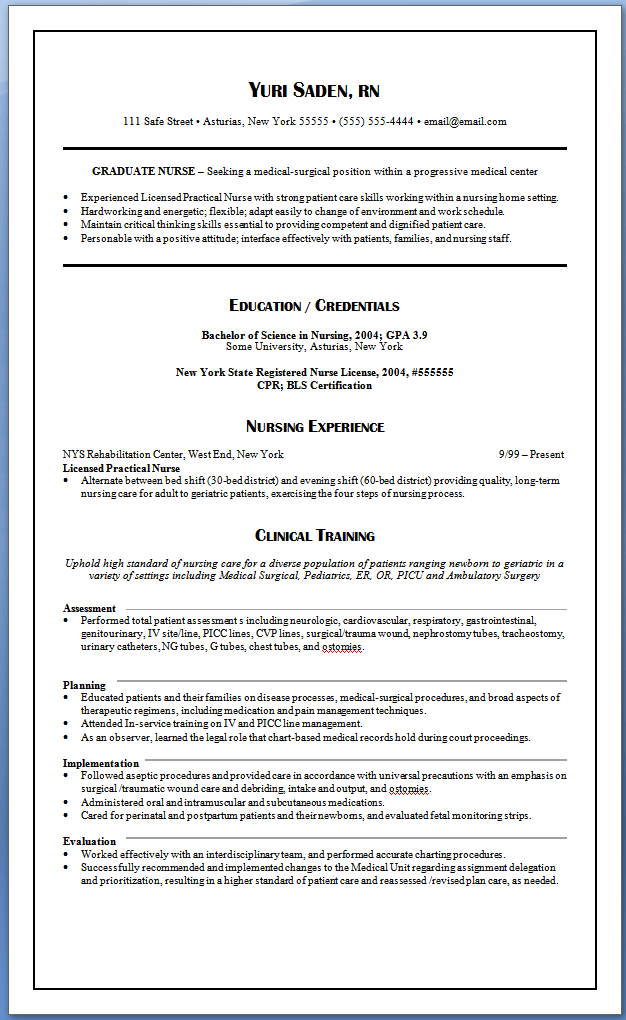 Top 10 Details To Include On A Nurse Resume