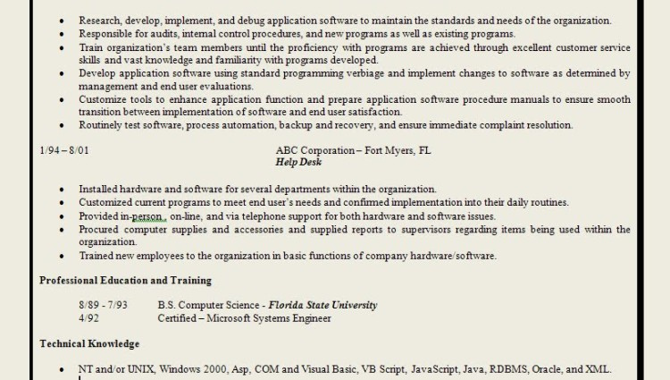 Resume Sample For a CEO - Distinctive Documents
