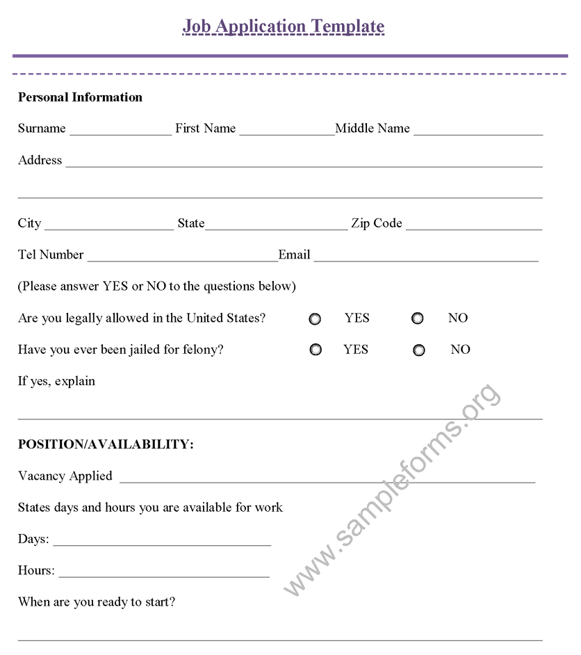 applicant form template info resume job application form resume for job application samples