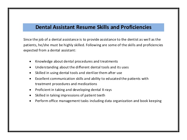 job description for a dentist template patient care assistant duties