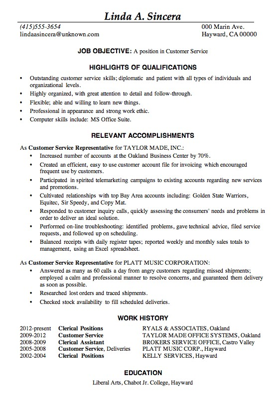 Perfect Job Resume Sample. Perfect Resume Model For Freshers How