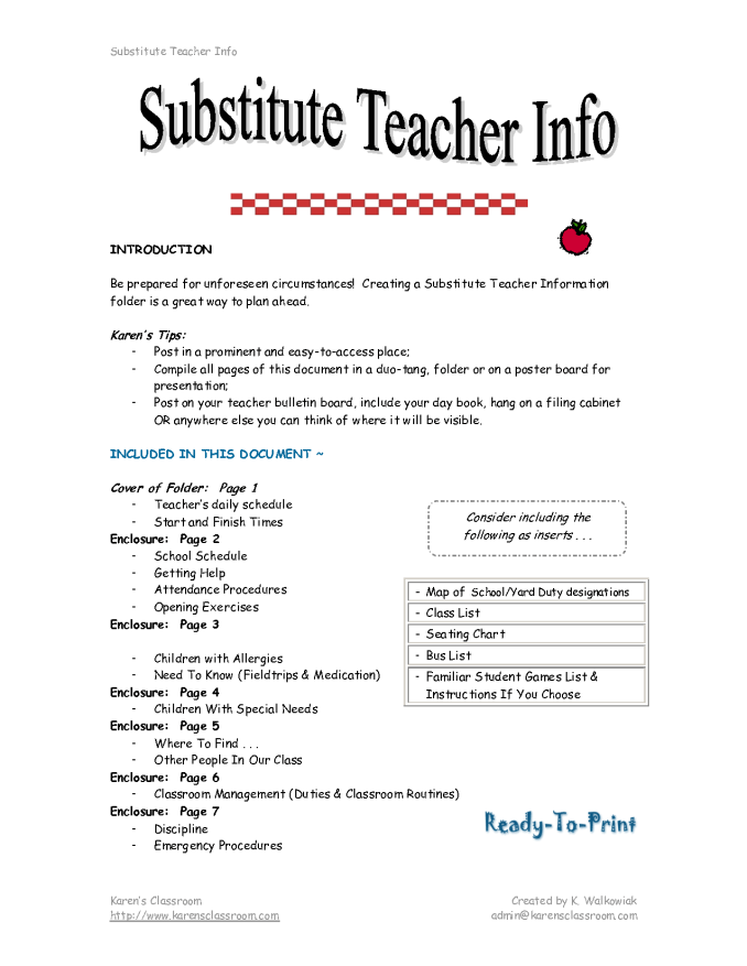 Substitute teacher cover letter free bestfriend letters free sample substitute teacher cover letter resume introduction spiritdancerdesigns Image collections