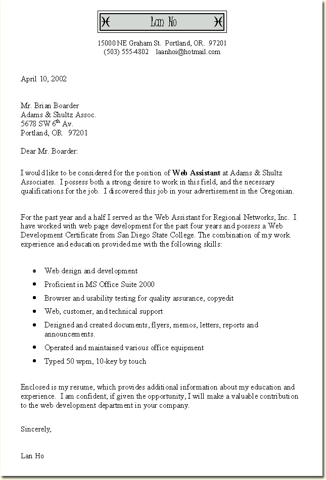 write resume cover letter free template 52 - Resume Cover Letter Free