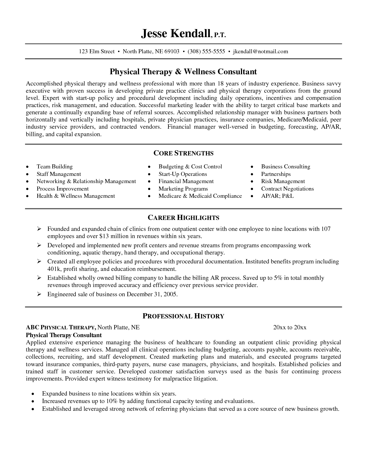 Sample Pta Resume Pta Resume Physical Contemporary Resume Template Massage Therapist  Resume Examples Sample Occupational Therapy  Occupational Therapy Resumes