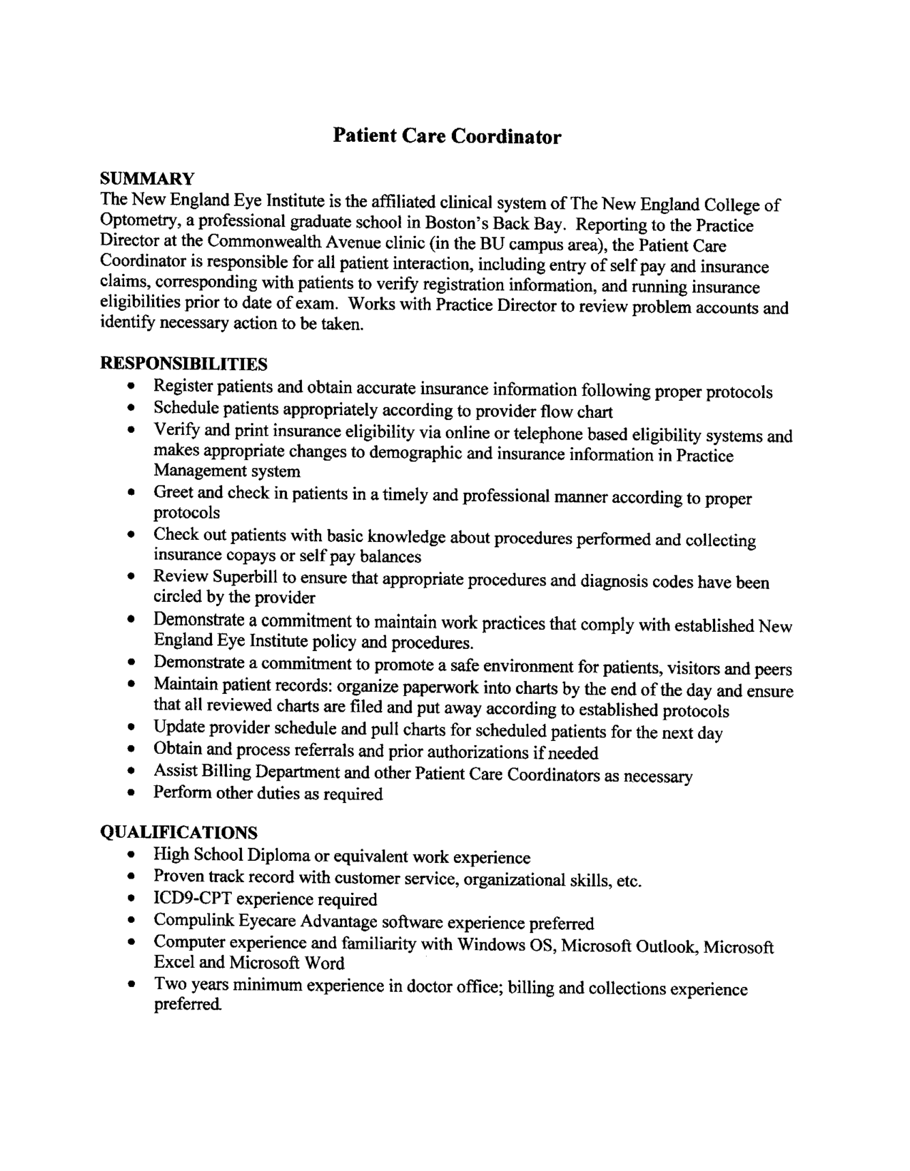 patient coordinator job description resume 2016 care sample samplebusinessresume com patient care assistant duties
